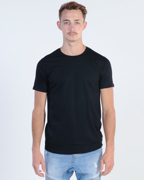 Silent Theory Theory Tail Tee - Black