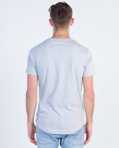 Silent Theory Theory Tail Tee - Grey Marle