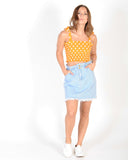 PICKING DAISYS DENIM SKIRT - BLUE DENIM
