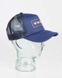 WNDRR NOTORIOUS TRUCKER CAP - NAVY/RED