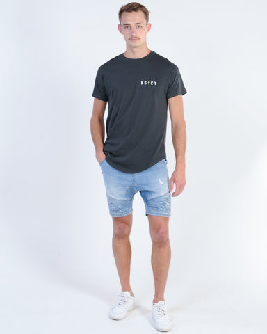 INDUSTRIE MARAIS TEE - NAVY/BLACK