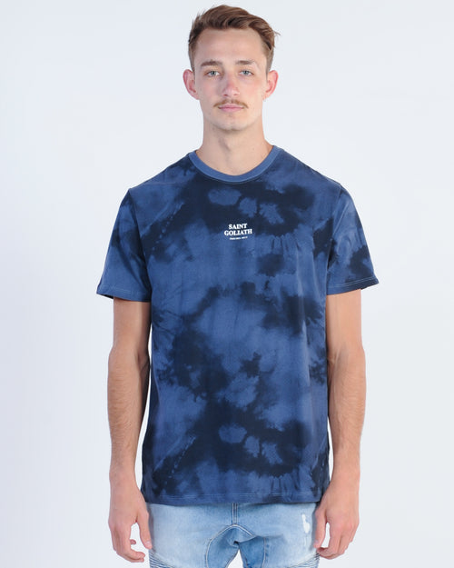 St. Goliath Magic Trip Tye Die Tee - Blue