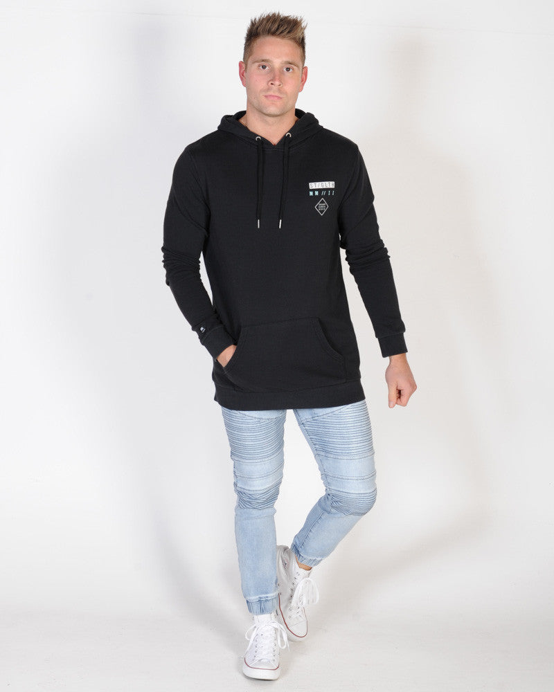 ST. GOLIATH UPTIGHT HOOD SWEAT - BLACK