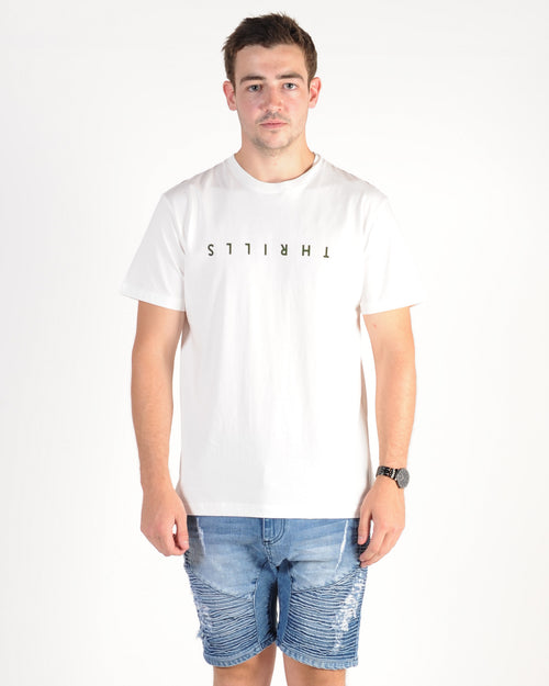 Thrills Classic Tee - Dirty White
