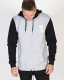 ST. GOLIATH FLANSBURGH HOOD SWEAT - GREY MARLE