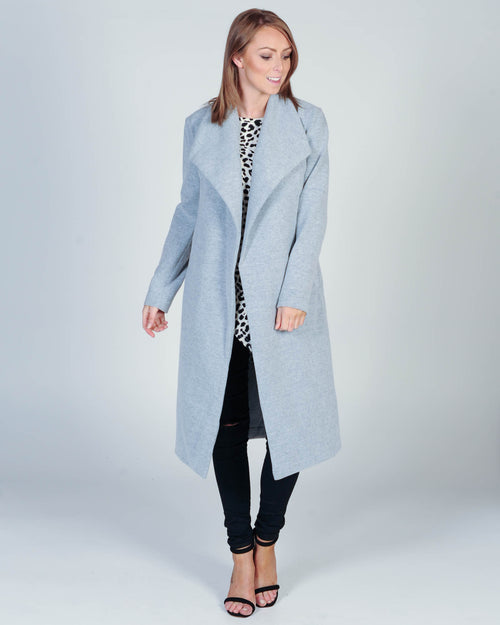 The Love Affair Coat - Grey