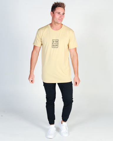 KISS CHACEY MENS SURF CLUB TEE - PEACH