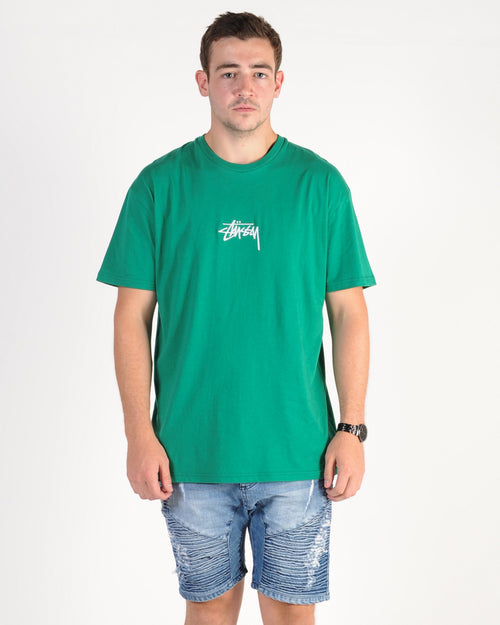 Stussy Stock Tee - Kelly