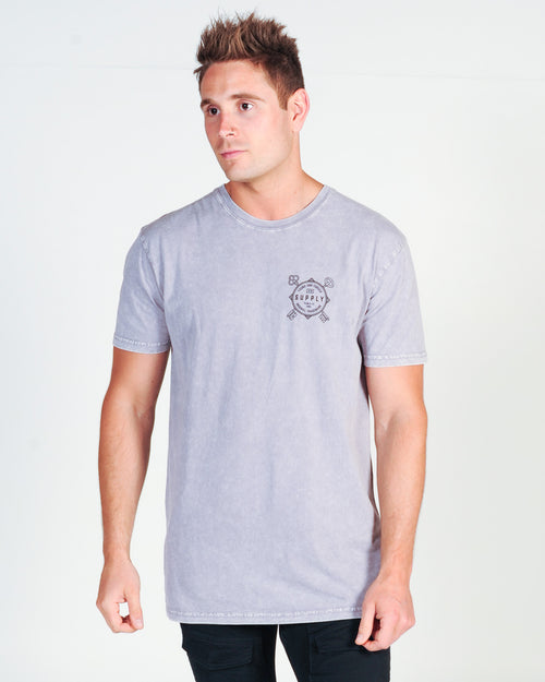DTB SUPPLY LOCKDOWN TEE - ORCHID STONE