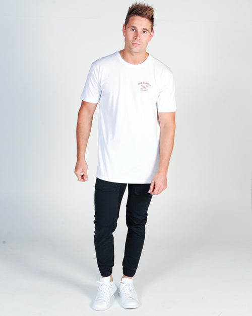DTB SUPPLY DIVISION TEE - WHITE