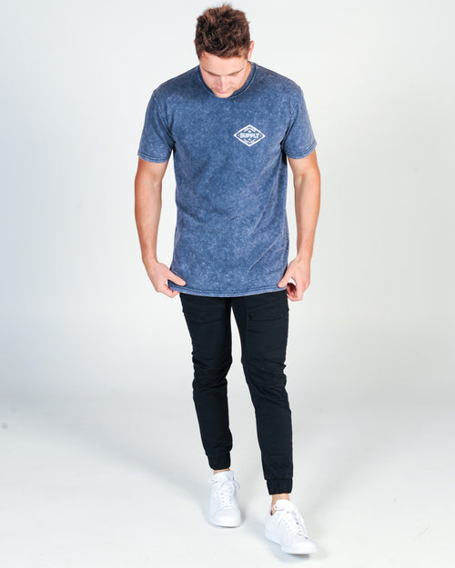 DTB SUPPLY BROOKS TEE - BLUE STONE