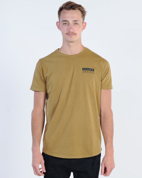 Silent Theory Artnoc Tee - Brown