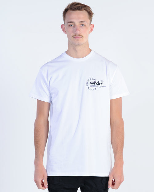 Wndrr Stage Custom Fit Tee- White