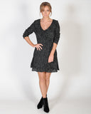 CROWD CONTROL DRESS - BLACK