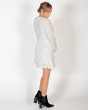 CROWD CONTROL DRESS - WHITE