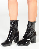 THERAPY HOXTON BOOT - BLACK LIQUID