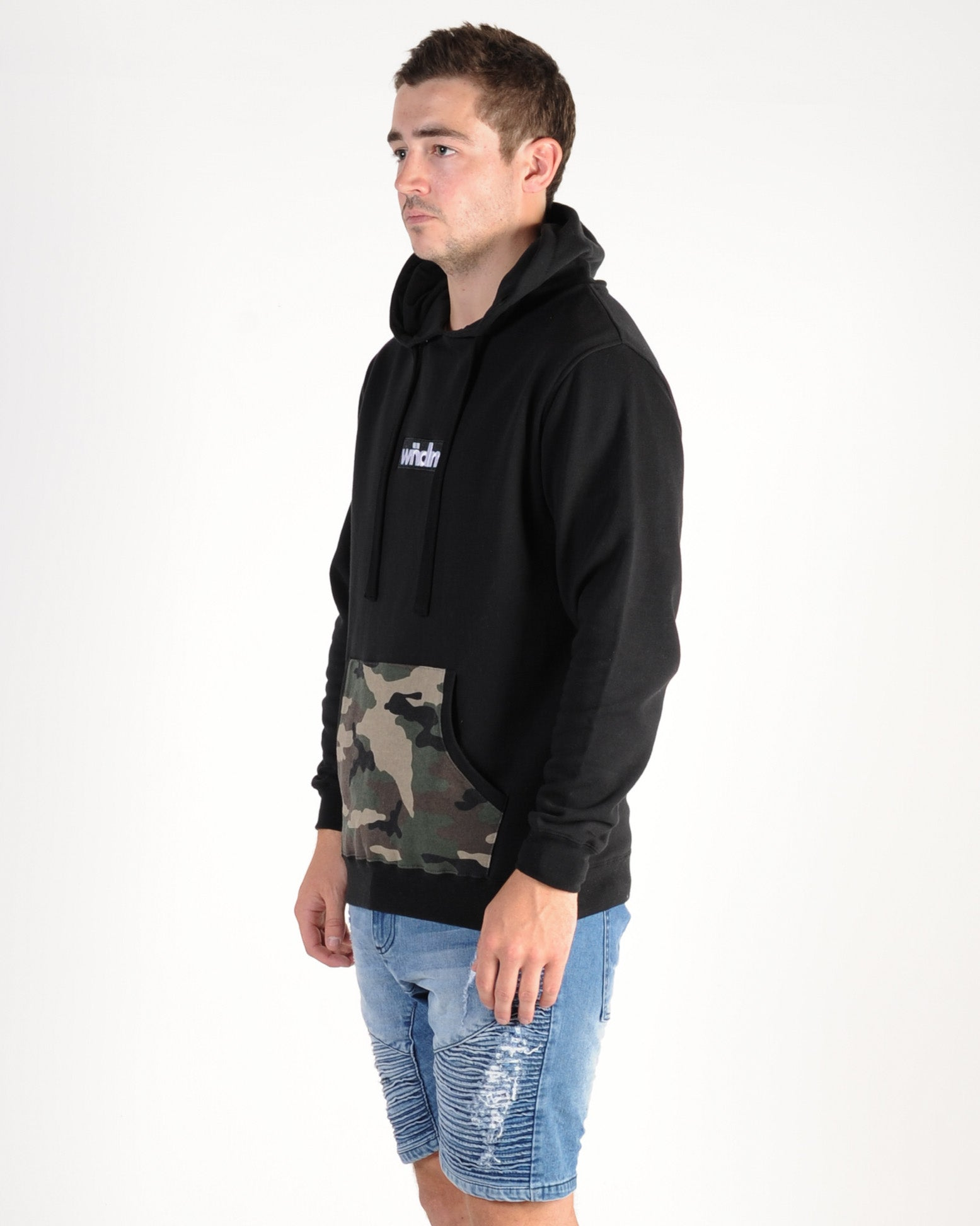 Wndrr Breach Hood Sweat - Black
