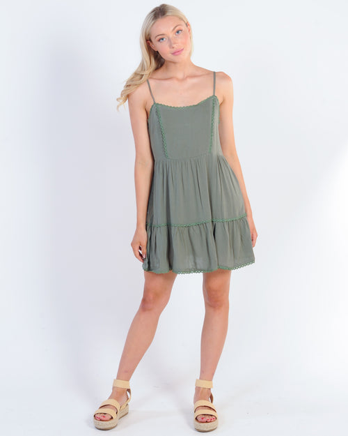 Across The Coast Dress - Khaki