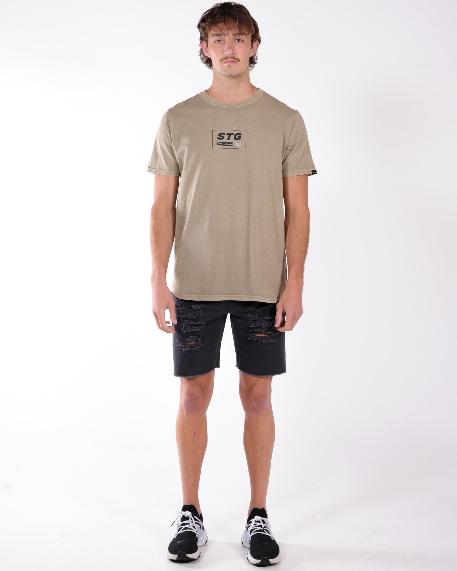 St Goliath City Guide Tee - Sand