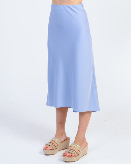 High Hopes Midi Skirt - Lilac