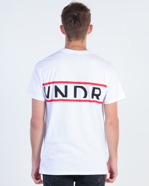 Wndrr League Custom Fit Tee - White