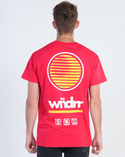 Wndrr Deception Custom Fit Tee - Red