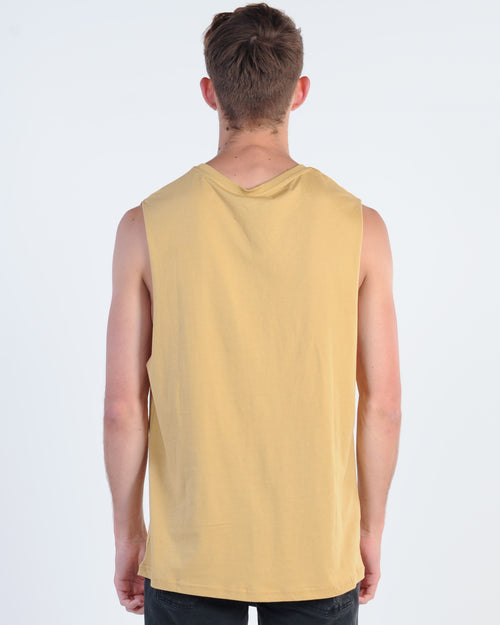 Wndrr Revive Muscle Top - Tan