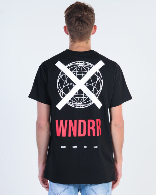 Wndrr Click Custom Fit Tee - Black