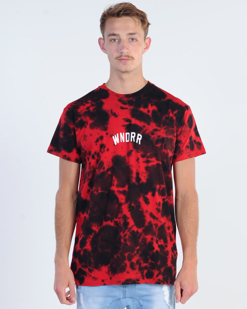 Wndrr Sweep Tie Dye Tee- Multi