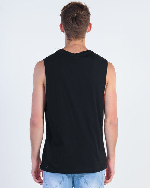 Wndrr Revive Muscle Top - Black