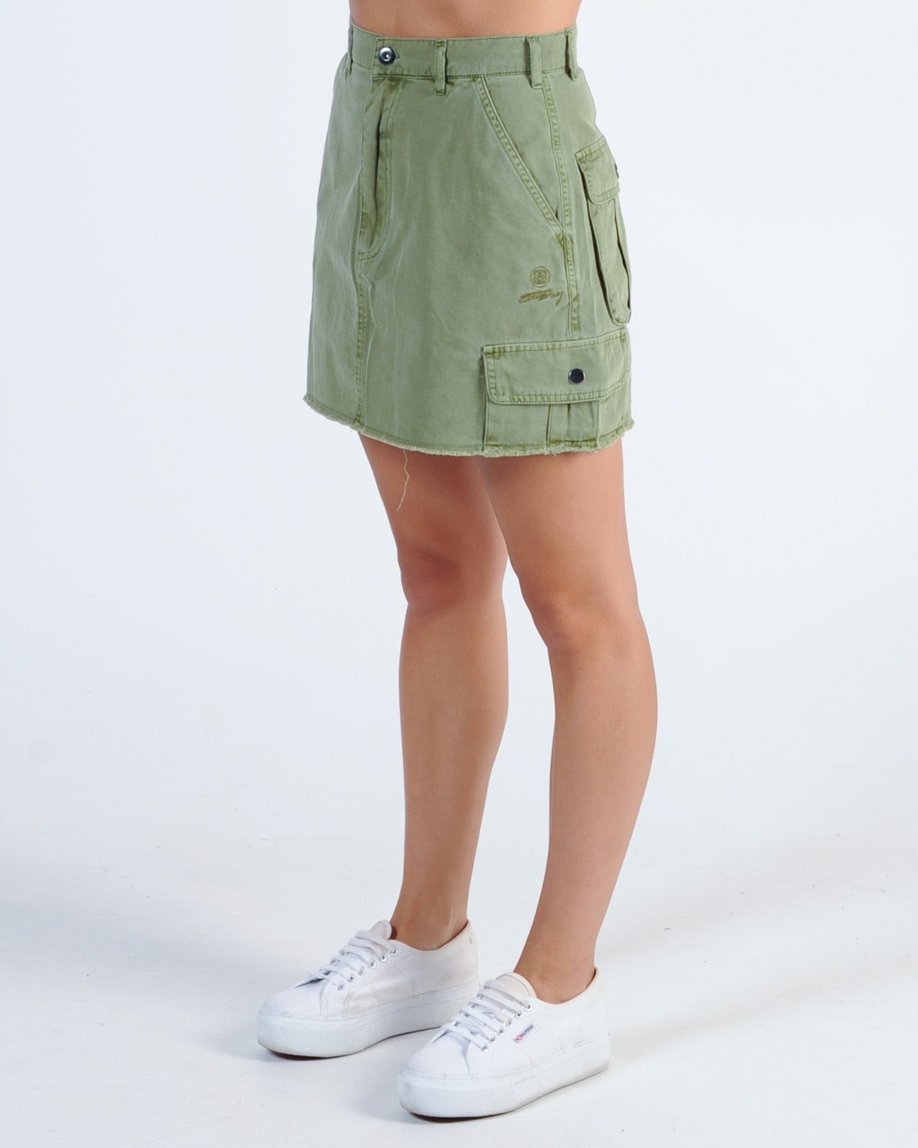 820ecf7096 Stussy Lenox Cargo Skirt - Khaki – New Generation Clothing
