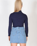 RIVERDALE TOP - NAVY