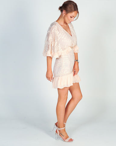 BLUE LAGOON PLAYSUIT - BLUE