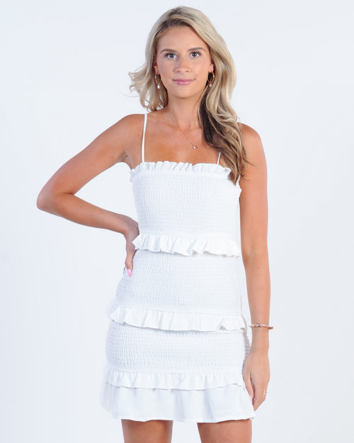Summer Runaway Dress - White