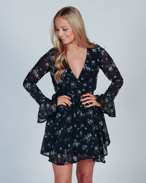 HOW SWEET IT IS DRESS - FLORAL