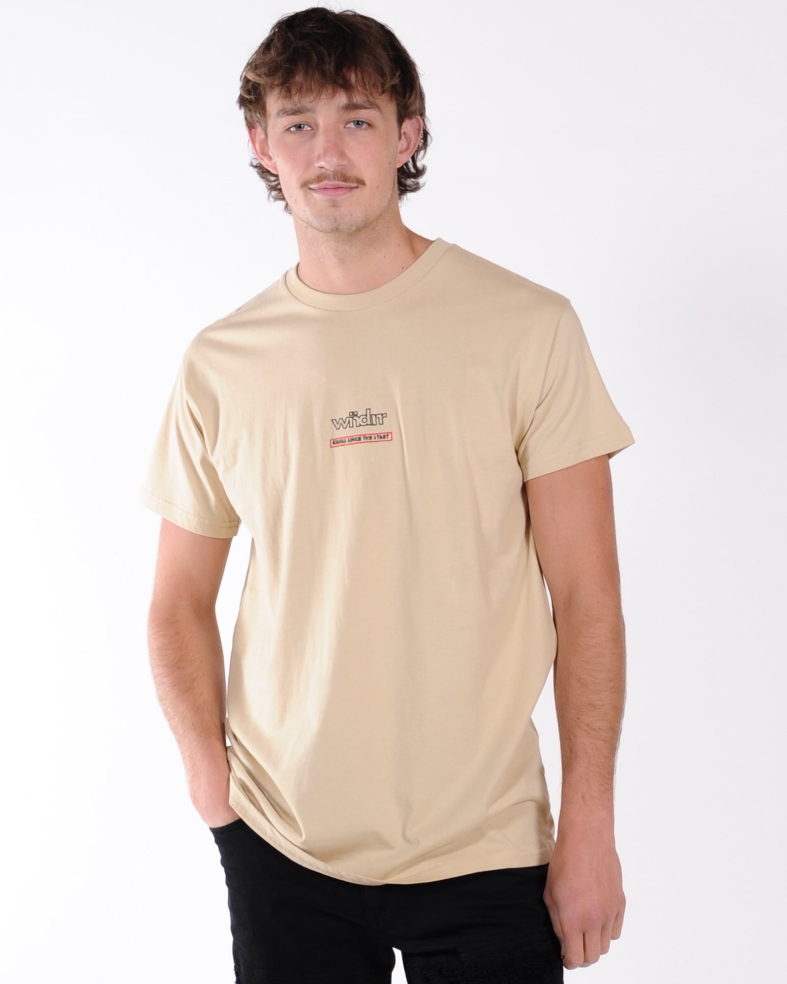Wndrr Blaze Custom Fit Tee - Tan