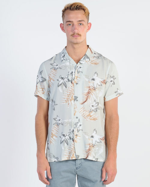 Industrie Mauritius Ss Shirt - Stone