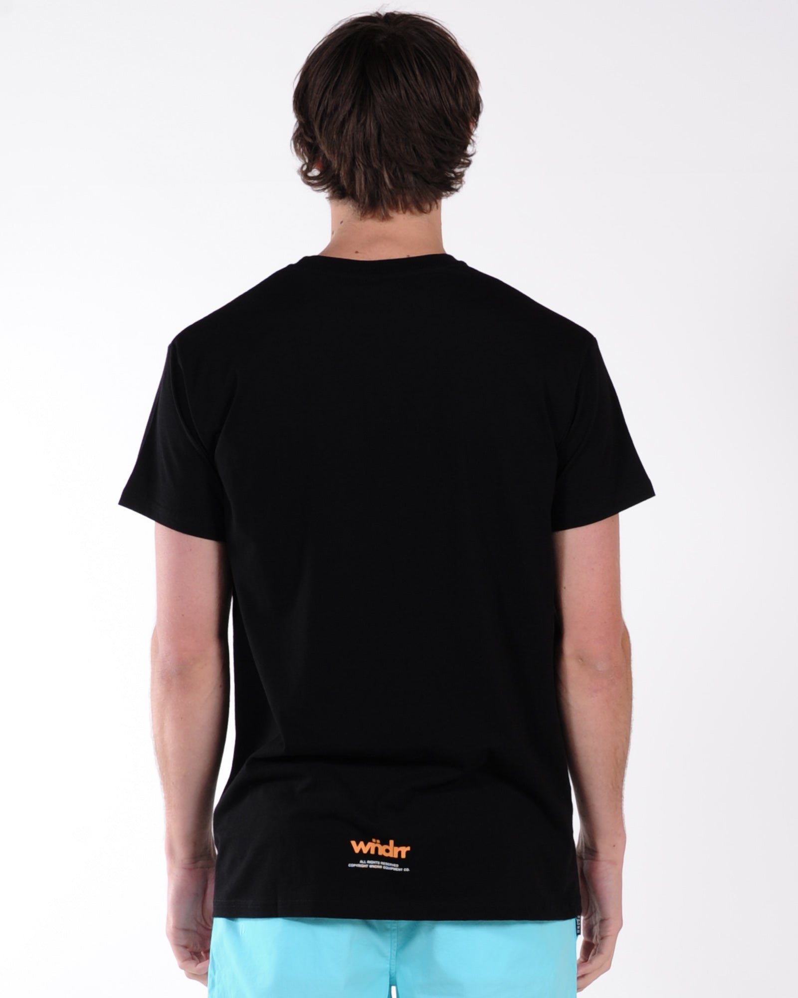 Wndrr Vhs Custom Fit Tee - Black