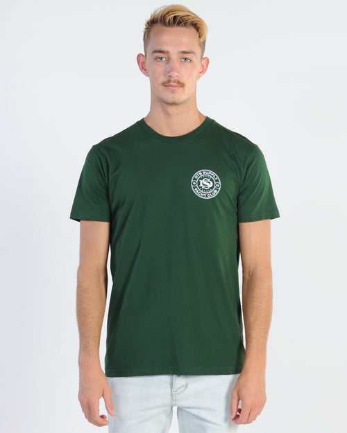 Dtb Supply Yacht Club Tee - Forest Green