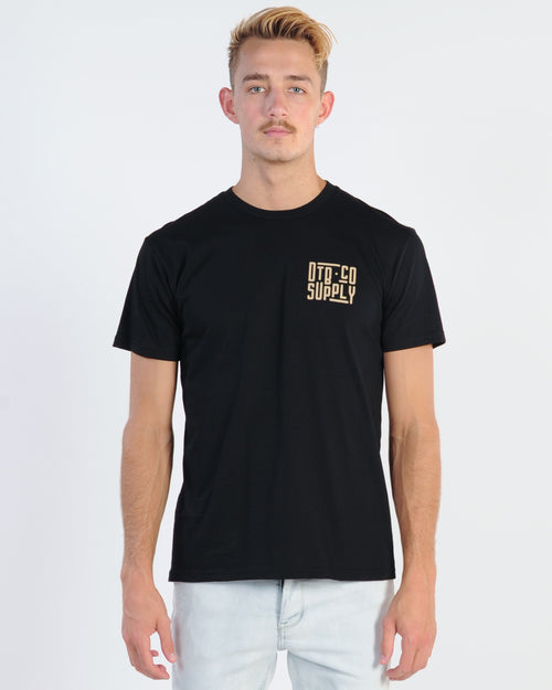 Dtb Supply Subway Tee - Black