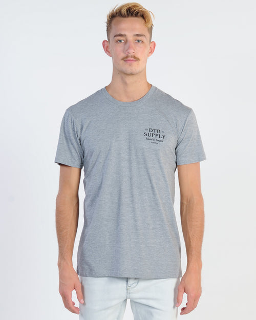 Dtb Supply Forged Tee - Grey Marle