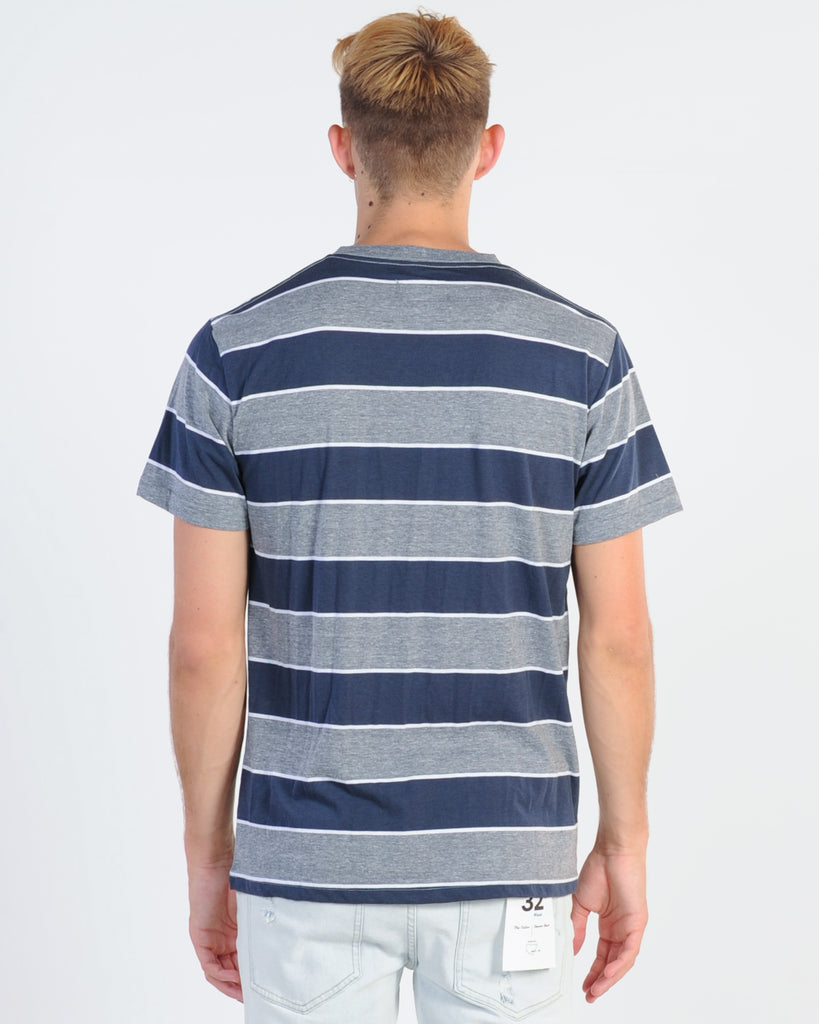 INDIE FESTIVAL TOP - BLUE STRIPE