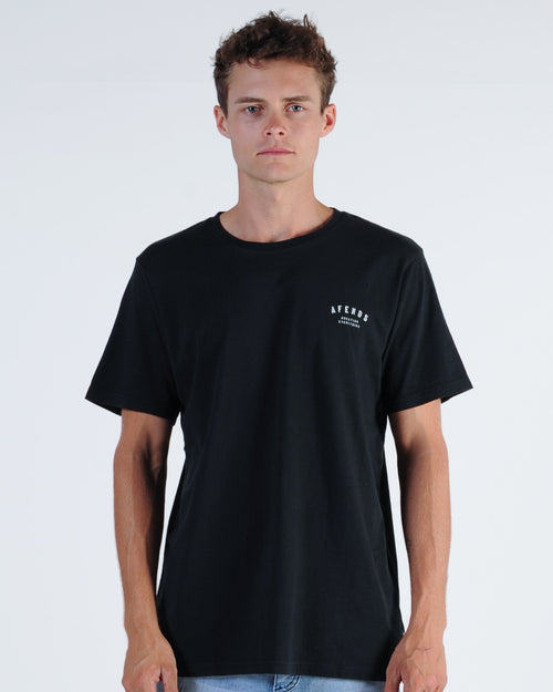 Afends Standard Issue Tee - Black