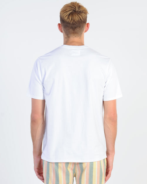 Barney Cools Script Tee - White
