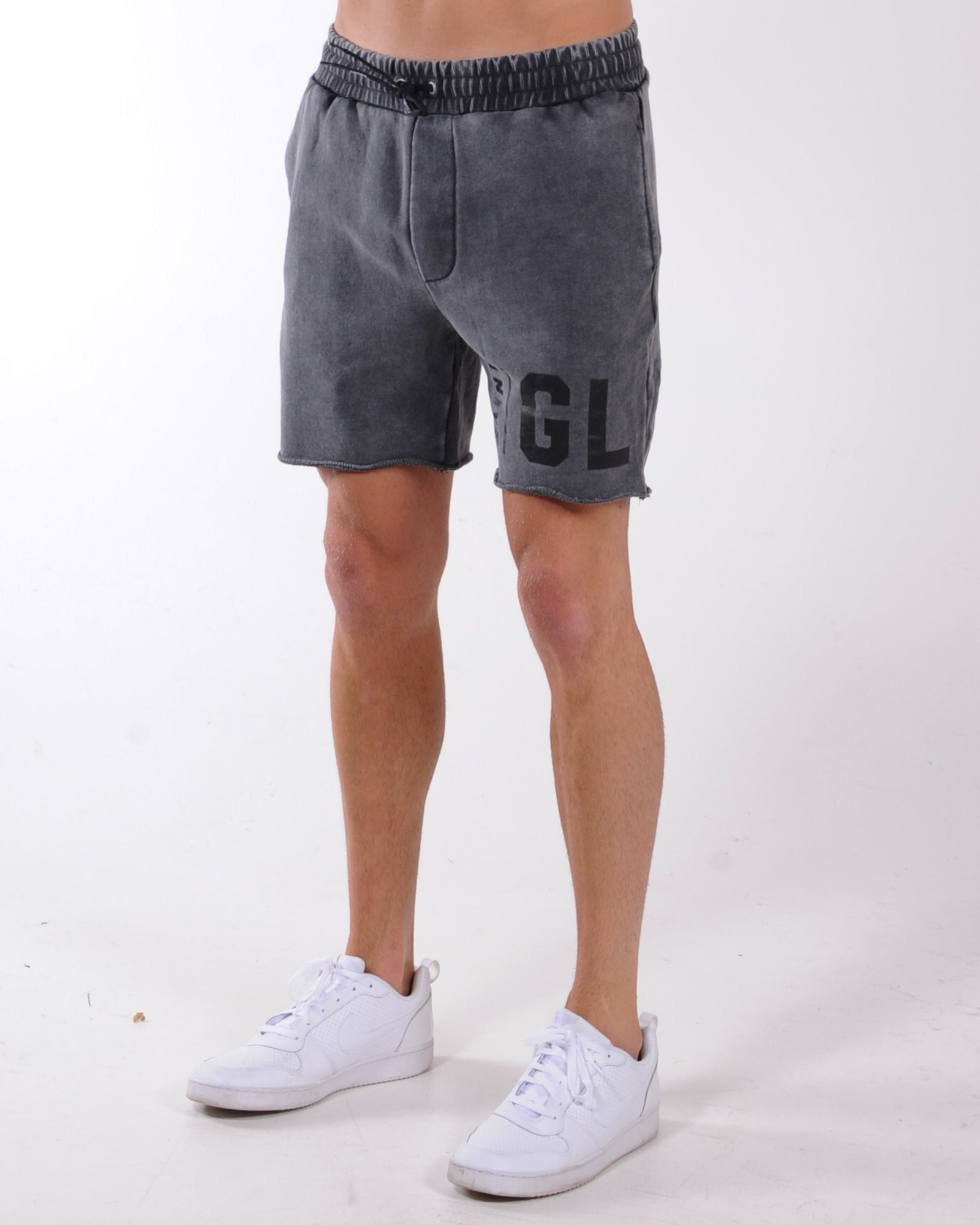 St Goliath Legion Short - Washed Black