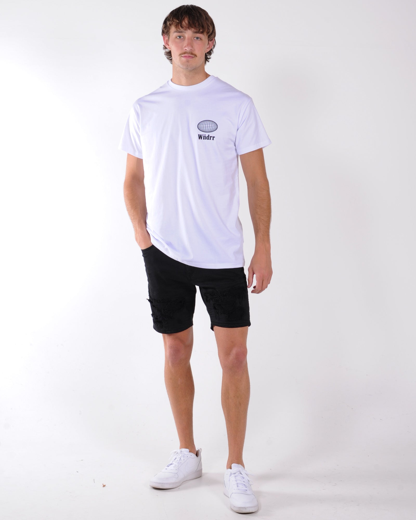 Wndrr Elipse Custom Fit Tee - White