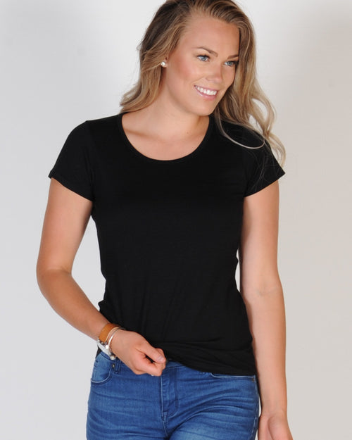 AS COLOUR MALI TEE - BLACK