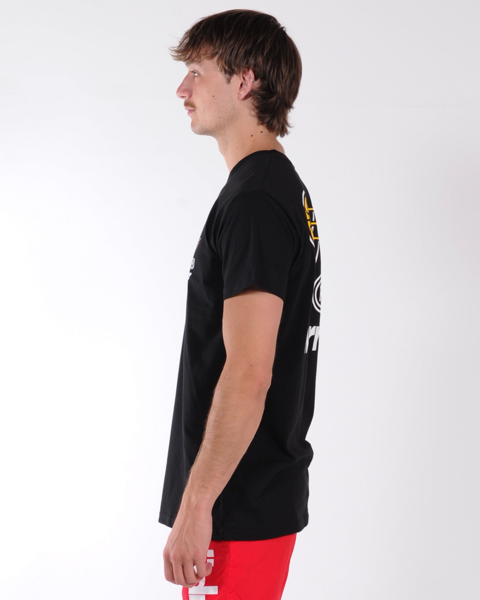 Wndrr In Bound Custom Fit Tee - Black