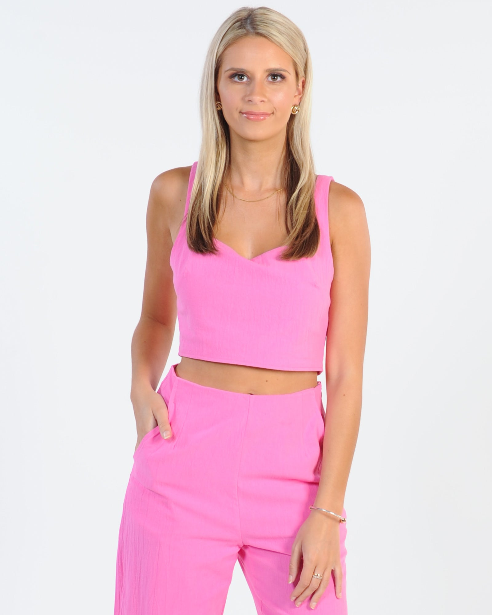 Real Barbie Top - Hot Pink