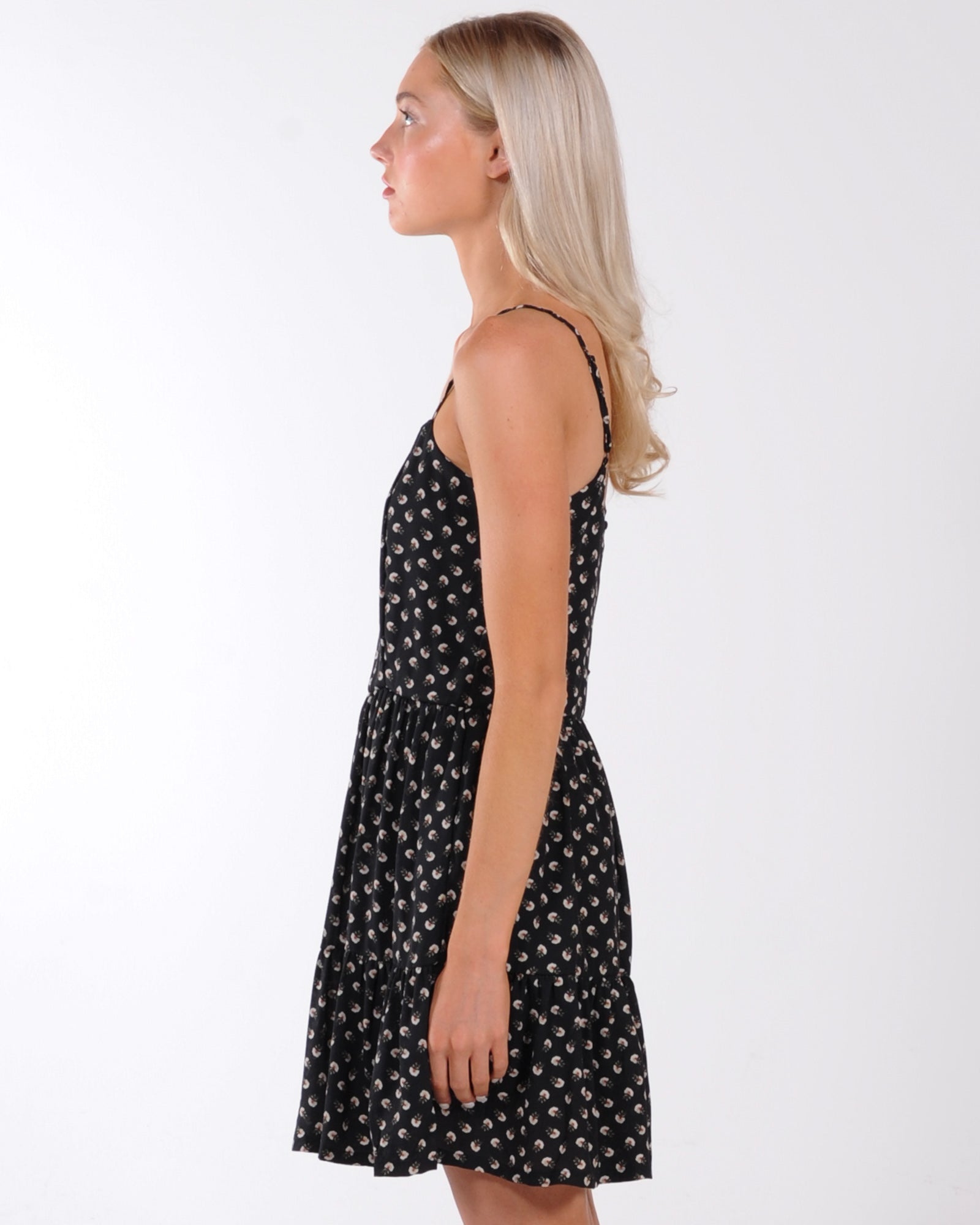 All About Eve Summer Ditsy Dress - Print
